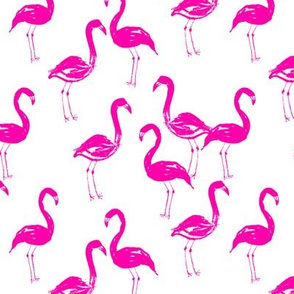 flamingo tropical bird summer pink girly cute