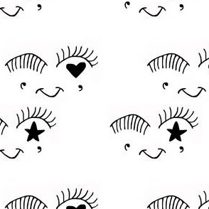 Star heart eyes