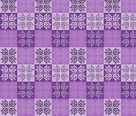 Scandinavian Plaid (Purple)