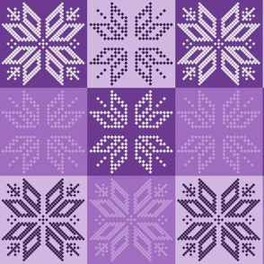 Scandinavian Plaid (Purple)