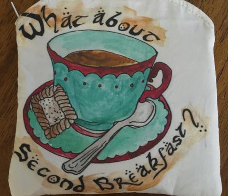 Second Breakfast lotr-ed