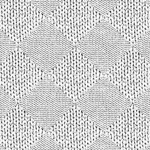 knit & garter check