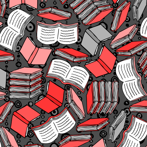 So Many Books... (Red)