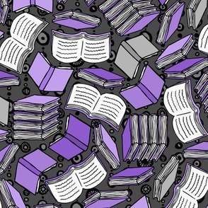 So Many Books... (Purple)
