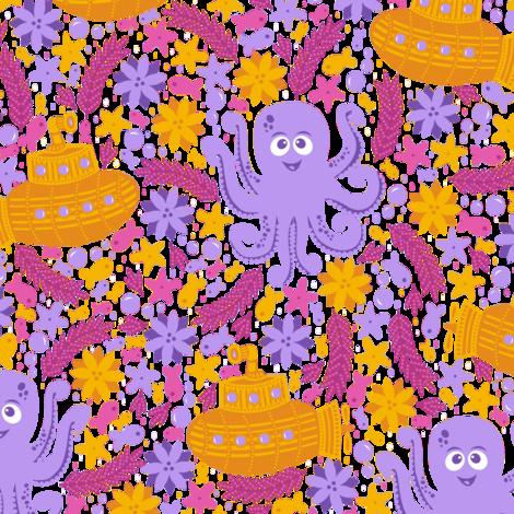 Octopus Garden (Purple)