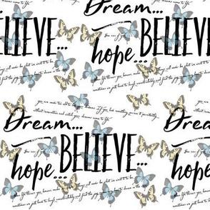 DREAM.HOPE.BELIEVE