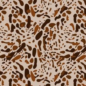 Wild Animal Skin Imitation Pattern