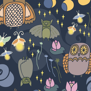 Adorable Night Creatures
