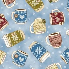 Cozy Knitting - Snowy day