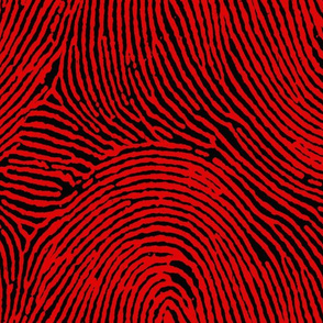 Red & Black Fingerprints