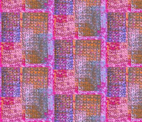 Grunge patchwork knitting 2