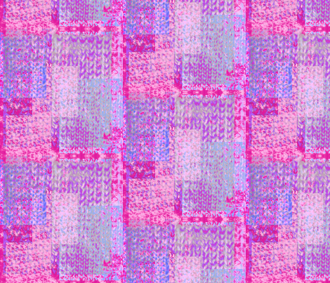 Grunge patchwork knitting 1