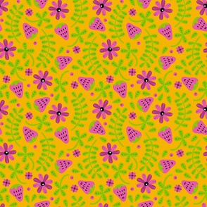 Strawberry Toss (Pink and Orange)