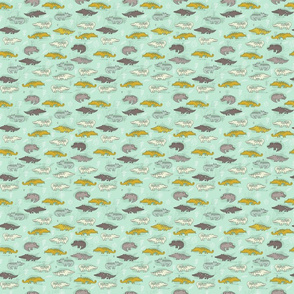 crocodiles pattern 2
