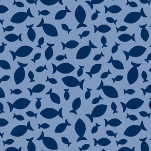 Confetti Fish (Classic Blues)