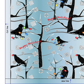 Holiday Bag - Curious Crows!