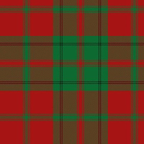 Drummond tartan - red and green