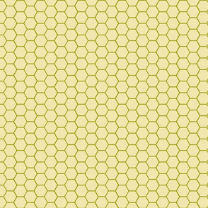 Hex Mat Plain Grid