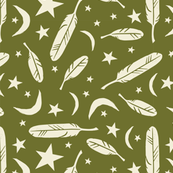 Night Messenger - olive
