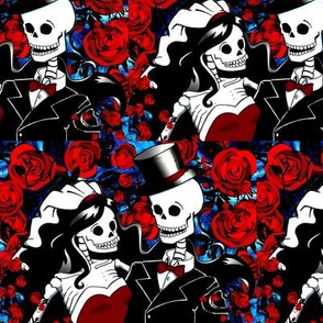 skull_wedding_and_roses