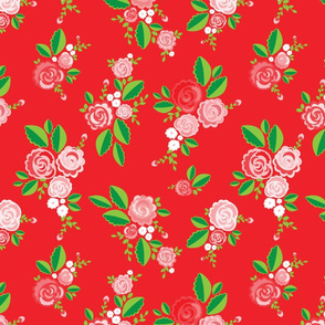 Red Summer Roses