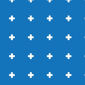 Large Cobalt Pluses