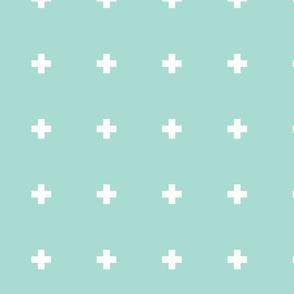 Large Mint Pluses