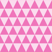 Dark Pink and Light Pink Triangles