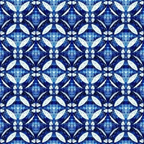 indigo lattice