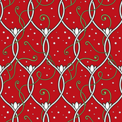 Christmas lines_red
