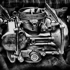 Vintage Biker Charcoal