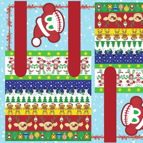 Ugly Sweater Gift Bag - A Very Macabre Christmas