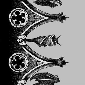 """Crypt Bats 54"""" - gray"""