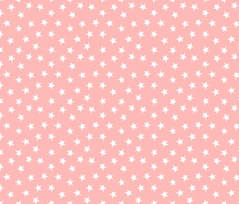 Stars simple pink pastel kids nursery little girls for Night sky print fabric