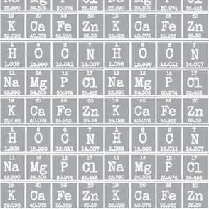 Periodic in Grey