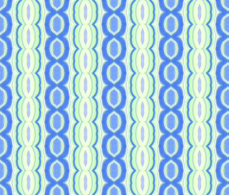 Blue and Green Texture Formal