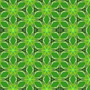 Lime Kaleidoscope