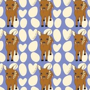 Little Hart Deer Offset Purple