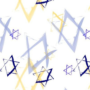 Jewish star print