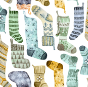 Sock Stockings by Angel Gerardo