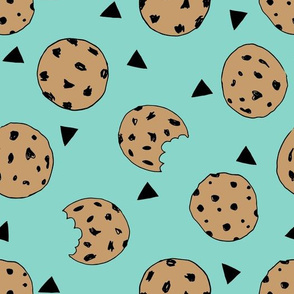 cookies // mint food kids nursery baby hand-drawn illustration
