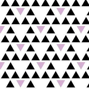 Black and Purple Triangles