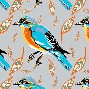 Grey_Bird_Pattern_