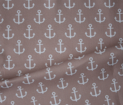 Anchors on brown