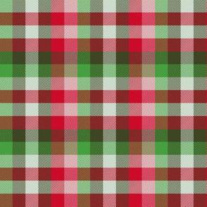 Madras plaid - Christmas