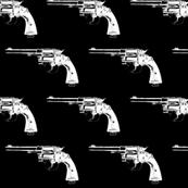 Revolvers on Black