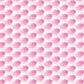Cumulous roses -- in pinks