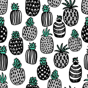 pineapple // summer kids grey tropical fruits summer