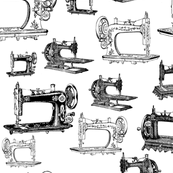 Vintage Sewing Machines - Large
