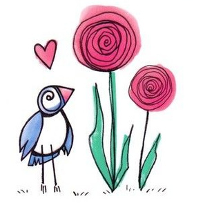 rosey bird
